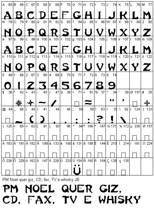 Muitas vezes Fontes Grátis - Free True Type Fonts - Fonte Last Ninja HG73