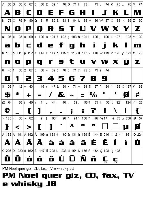 Fontes Grátis - Free True Type Fonts - Fonte Serpentine-Bold